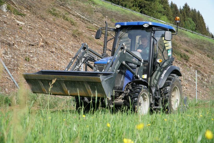 Lovol TB504 Traktor Rückruf Test Erfahrungen Hersteller Österreich