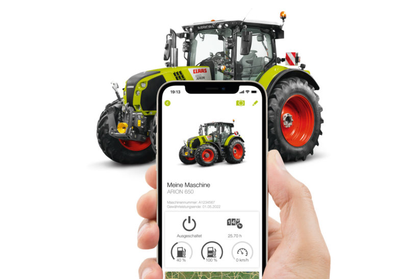 Claas connect mobile app