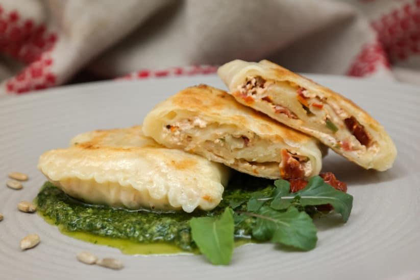 Mozzarella-Tomaten Strudelpackerl