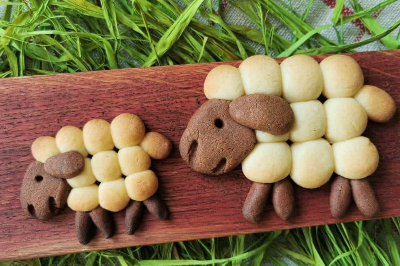 Schäfchen-Kekse