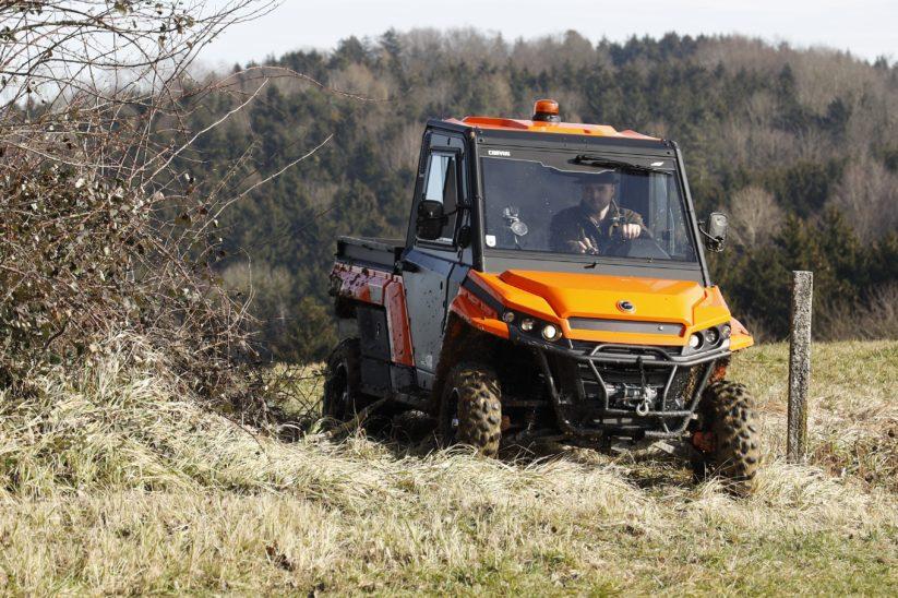 UTV Corvus Terrain DX4 Cab Landwirtschaft Forstwirtschaft Jagd Geländefahrzeug