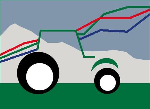 Traktorzulassungen in Österreich, Jänner März 2021