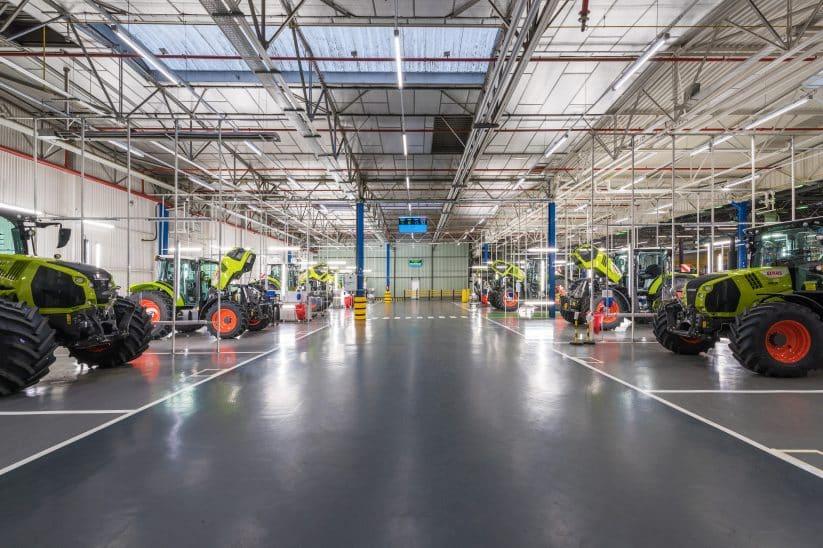 Claas Traktoren Traktorenwerk Le Mans start eröffnung eröffnet startet