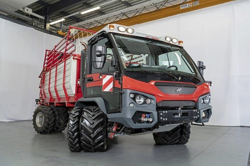 Aebi-Transporter TP 470 vario preis technische daten neuer