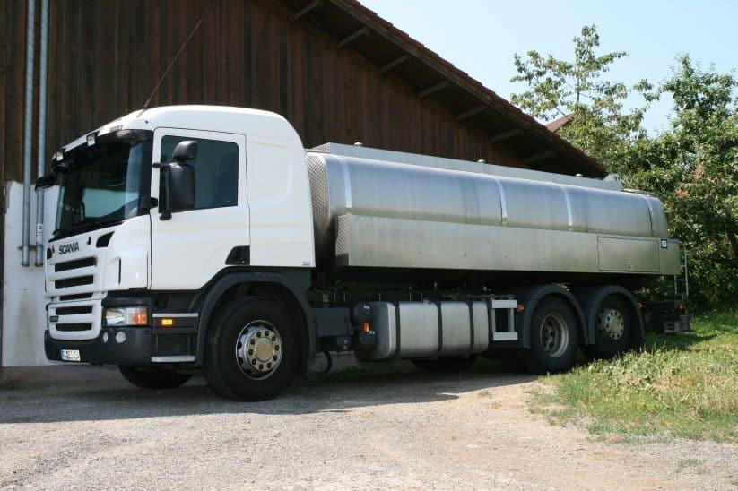 Milch Milchtank Tankwagen