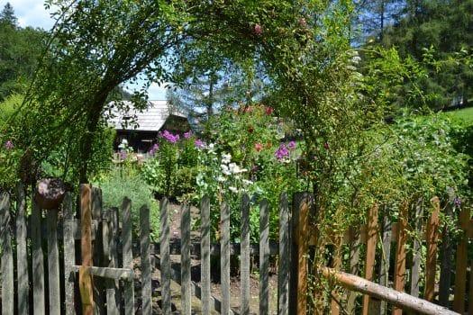 Eingang Bauerngarten