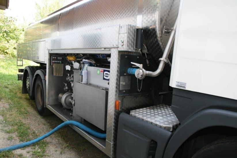 Milch Tankwagen Milchpreise